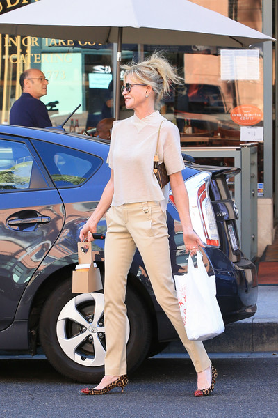 More Pics of Melanie Griffith Chinos (1 of 7) - Melanie Griffith Lookbook - StyleBistro