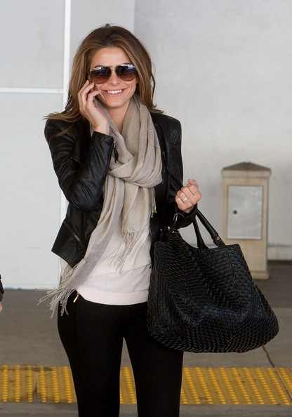 More Pics of Maria Menounos Leather Jacket (4 of 18) - Maria Menounos Lookbook - StyleBistro
