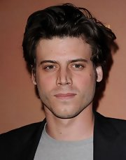 Francois Arnaud looked handsome at the opening of The Immortal World Tour, even with a disheveled 'do.