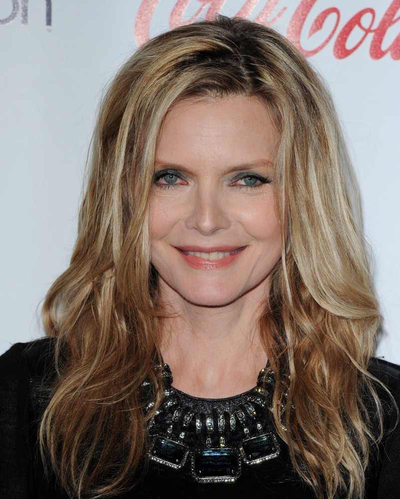 Recent Pictures Of Michelle Pfeiffer >> Michelle Pfeiffer Gemstone Collar Necklace - Michelle Pfeiffer Looks - StyleBistro