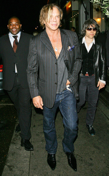 Mickey Rourke Jewelry