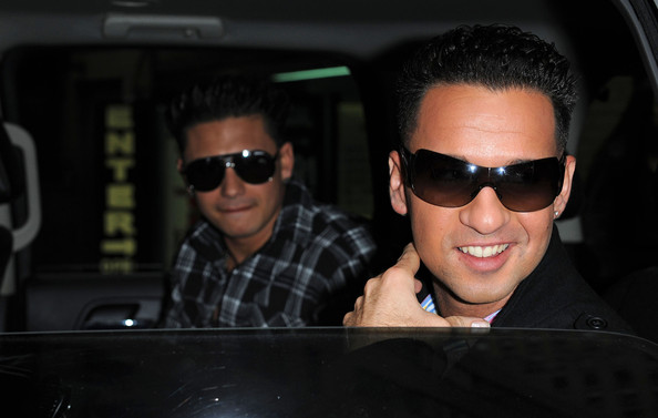Mike Sorrentino Rectangular Sunglasses
