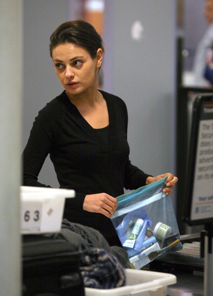 Mila Kunis V-neck Sweater