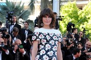 Milla Jovovich Print Dress