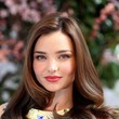Miranda Kerr's Sleek Waves