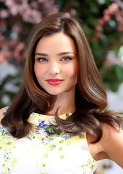 Miranda Kerr has some seriously enviable tresses!