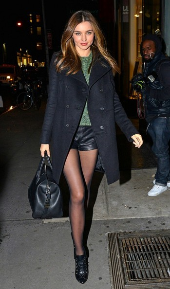 More Pics of Miranda Kerr Wool Coat (5 of 5) - Miranda Kerr Lookbook - StyleBistro