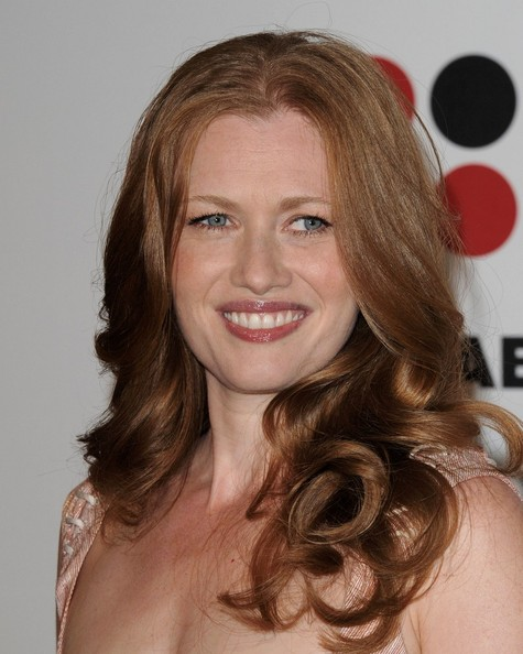 Mireille Enos Long Wavy Cut