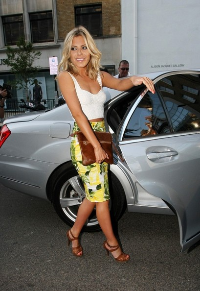 Mollie King Pencil Skirt