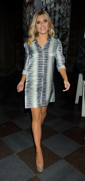 More Pics of Mollie King Shirtdress (5 of 7) - Dresses & Skirts Lookbook - StyleBistro
