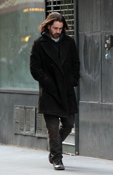 More Pics of Colin Farrell Wool Coat (1 of 8) - Colin Farrell Lookbook - StyleBistro
