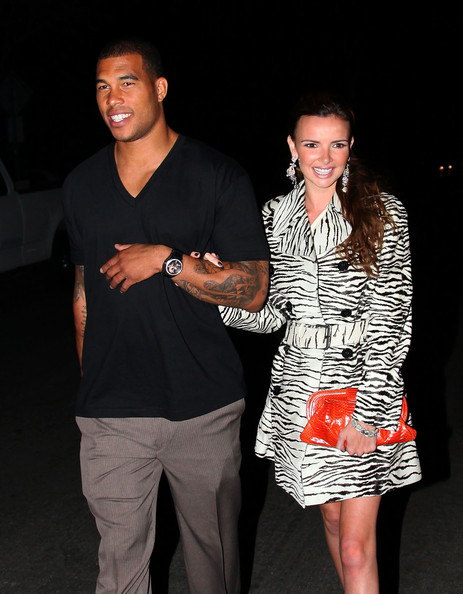 Nadine Coyle Buckled Clutch []