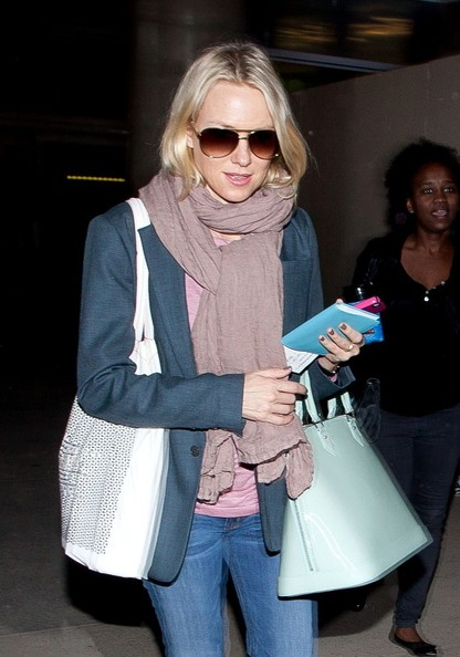 More Pics of Naomi Watts Solid Scarf (1 of 16) - Naomi Watts Lookbook - StyleBistro