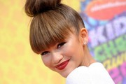 Nickelodeon's 27th Kids' Choice Awards..USC's Galen Center, Los Angeles, California..March 29, 2014..Job: 140329A1..(Photo by Axelle Woussen/Bauer-Griffin)..Pictured: Zendaya Coleman.