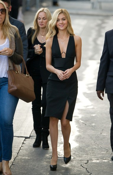 Nicola Peltz Little Black Dress