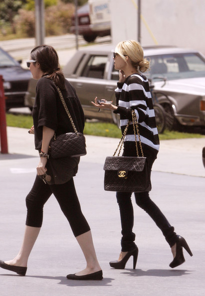 Nicole Richie Quilted Leather Bag