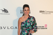 Nikki Reed One Shoulder Dress