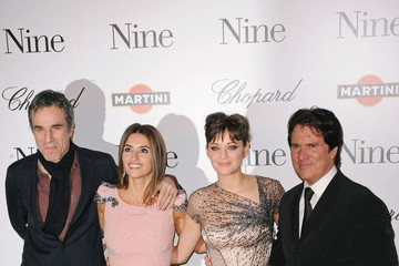 Marion Cotillard Daniel Day-Lewis Nine premieres in Paris