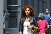 Noemie Lenoir Studded Shoulder Bag