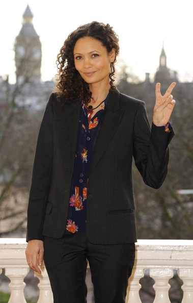 More Pics of Thandie Newton Medium Curls (3 of 12) - Hair Lookbook - StyleBistro