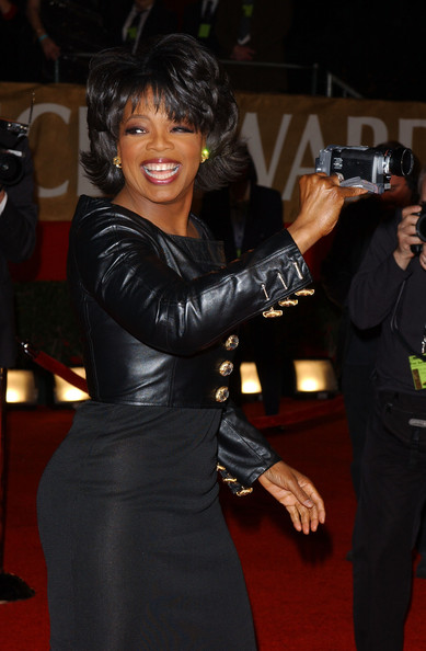 Oprah Winfrey Leather Jacket