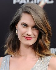 Heather's soft brunette waves looked totally windblown-chic at the premiere of 'Pacific Rim.'