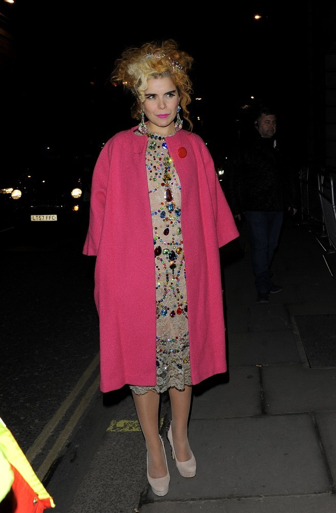 Paloma Faith Wool Coat Paloma Faith Looks Stylebistro