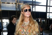Paris Hilton Aviator Sunglasses