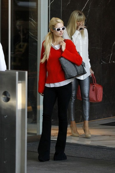 Paris Hilton V-neck Sweater