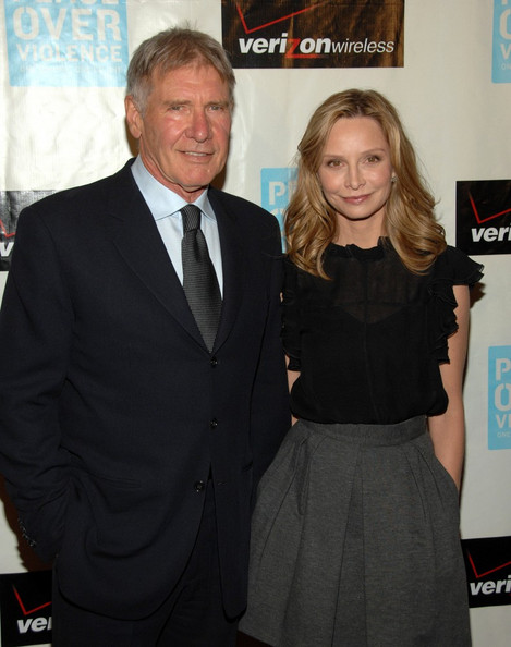 More Pics of Calista Flockhart Medium Wavy Cut (1 of 18) - Calista Flockhart Lookbook - StyleBistro