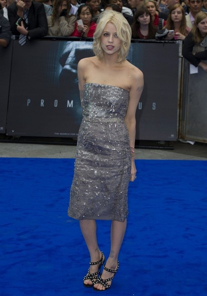 Peaches Geldof Beaded Dress