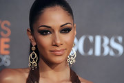Nicole looked sultry on the red carpet at the People's Choice Awards where she showed off her smoky cat eye.