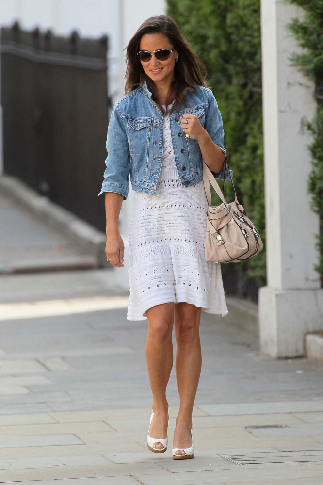 More Pics of Pippa Middleton Denim Jacket (5 of 12) - Pippa ...
