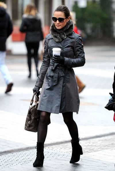 Pippa Middleton Trenchcoat