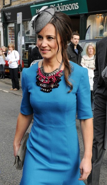 Pippa Middleton Beaded Statement Necklace