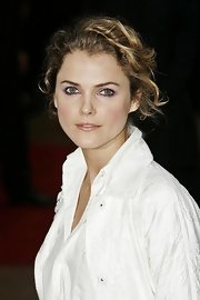 Keri Russell tamed her curls in a tousled updo for the premiere of 'Mission Impossible 3.'