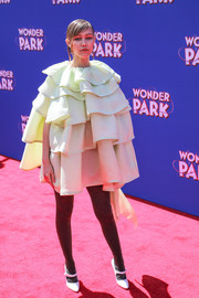 Grace Vanderwaal stole the spotlight in a voluminous ruffle mini dress by Marc Jacobs at the premiere of 'Wonder Park.'
