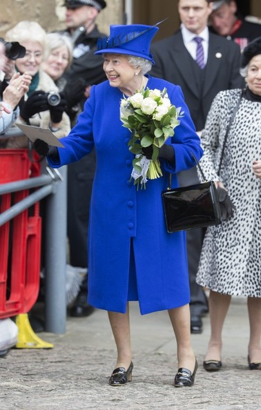 Queen Elizabeth II at the Maundy Service