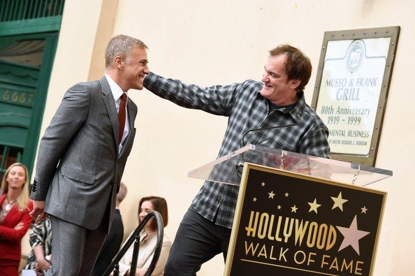 Christoph Waltz Honored on the Walk of Fame