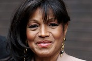 Rebbie Jackson Side Swiped Bangs