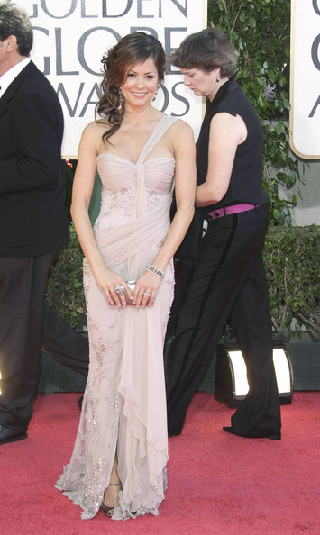 Brooke+Burke in Red carpet arrivals for 66th Annual Golden Globe Awards