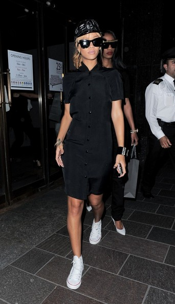 Rihanna Shirtdress