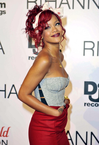 More Pics of Rihanna Headband (1 of 6) - Hair Accessories Lookbook - StyleBistro