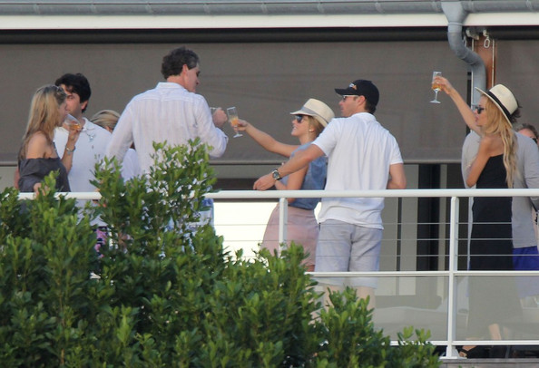 Julianne Hough and Ryan Seacrest on Vacation