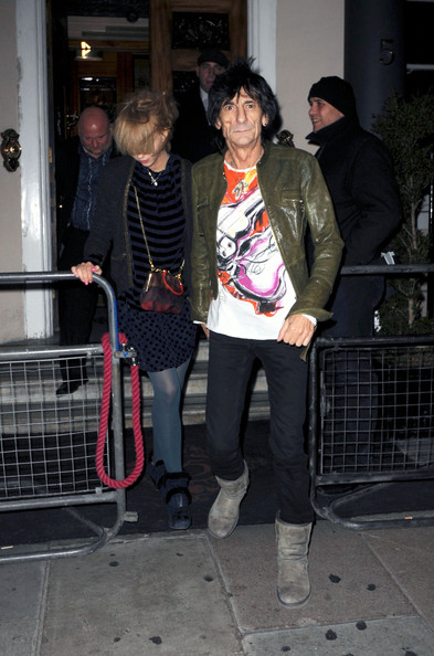 Ronnie Wood Sheepskin Boots