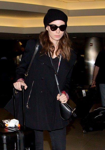 Rooney Mara Cateye Sunglasses