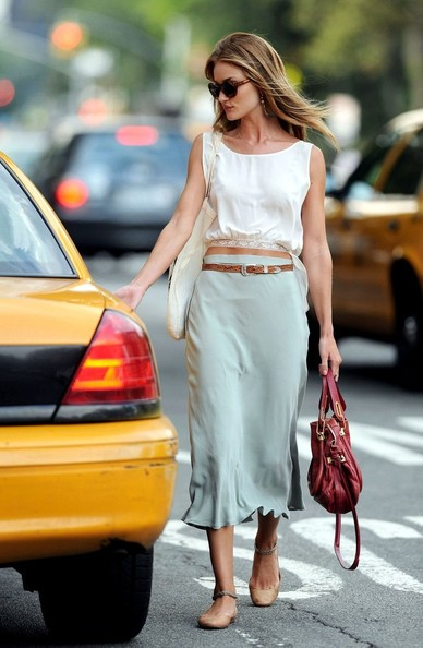 Rosie Huntington-Whiteley Long Skirt