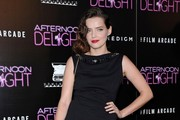 Roxane Mesquida Little Black Dress