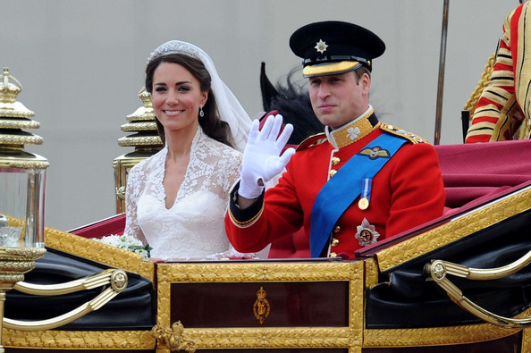 Kate+Middleton in Royal Wedding: The carriage ride