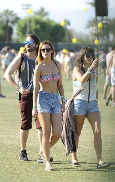 Rumer Willis Denim Shorts